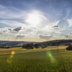 Blick in die Landschaft rund um Velbert